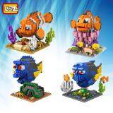 Set of 4 Cute Disney Finding Dory/Nemo Loz Nano/Diamond Block Figure/Figures [Birthday Gift/Present]