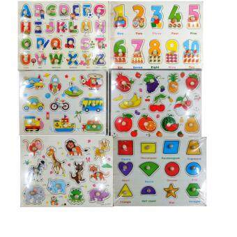 Harga (set of 6) Children Learning Board