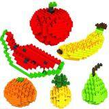 Set of 6 Cute Fruit Series Loz Nano/Diamond Block Figure [6 options][Birthday Gift/Present/DIY] [NEW]
