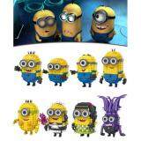 Set of 8 Cute Minion/Minions/Despicable me Loz Mini Block Figure/Figures [Birthday Gift/Present/DIY]