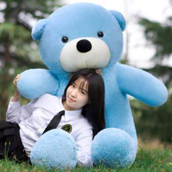 Harga Sky Blue Stuffed Animal Teddy Bear Plush Soft Toy 160CM Huge SoftToy