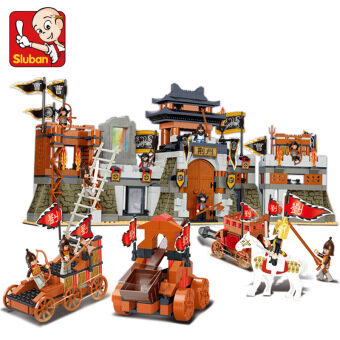 Small Lu Ban ENLIGHTEN happy assembled Educational Building Blockstoys