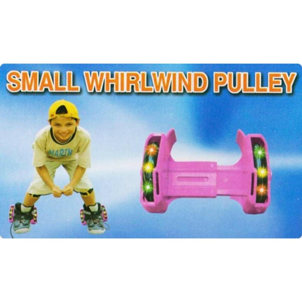 Small Whirwind Pulley On Kids Shoes