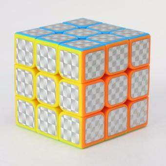 Harga Smooth Third-order Rubik's Cube Stickers Educational Toys