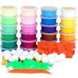 SOKANO 24 Colours Non Toxic DIY Polymer Magic Clay Set