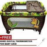 (RAYA 2019) SOKANO 3 in 1 Premium Foldable Baby Cribs (Free Digital Thermometer)
