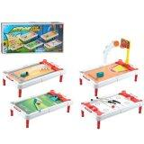 SOKANO Action 4 in 1 Board Game (Bowling, Basketball, Golf and Hockey)