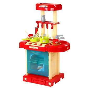 SOKANO Kitchen Playset Red