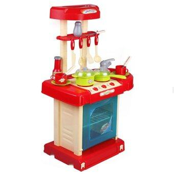 SOKANO Kitchen Playset Red