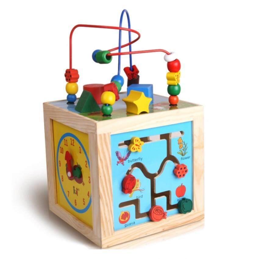 SOKANO KKToy Beads Maze Educational Toy- Flower and Bird Design