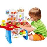 SOKANO Mini Market Pretend Playset- Blue