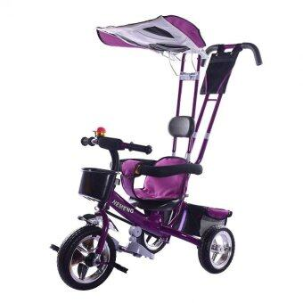 SOKANO T001 Multifunctional Kid Tricycle- Purple