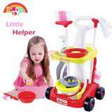 (RAYA 2019) SOKANO TOY 667 XL Size Little Helper Housekeeping Game with Trolley - Red