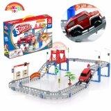 (RAYA 2019) SOKANO TOY DIY Electric Track Car Game (95-3) Dream Of Track 5 Contest (55PCS)