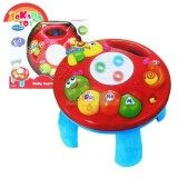 (RAYA 2019) SOKANO TOY TOT Kids 2 in 1 Musical Baby Learning Table- Butterfly