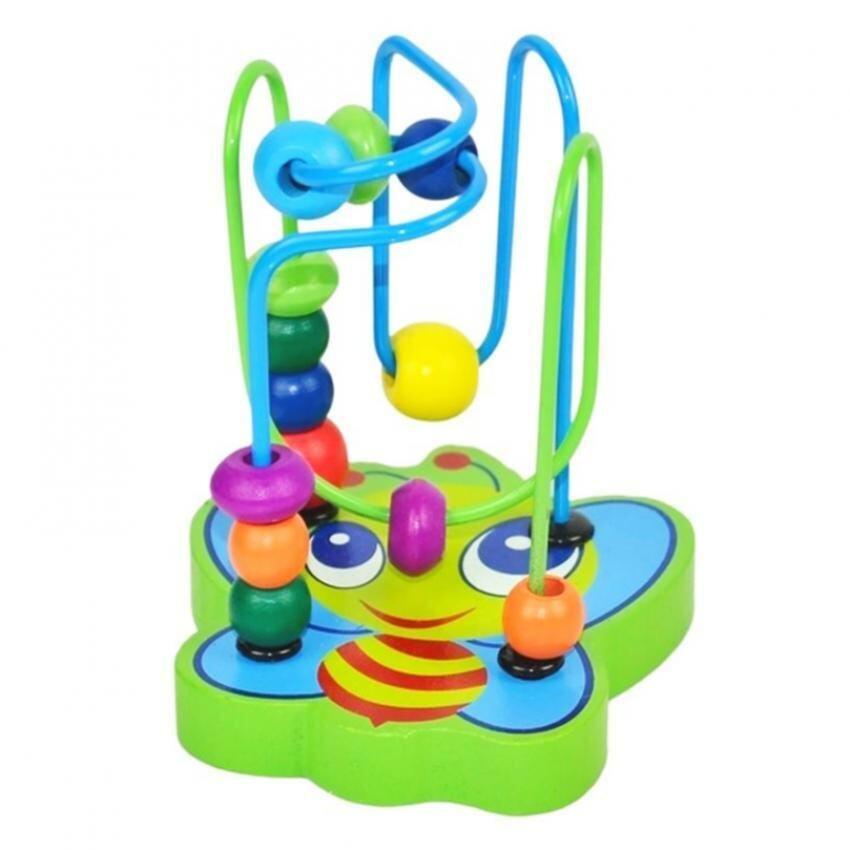 SOKANO Wooden Mini Around Beads Educational Toy- Bee Design