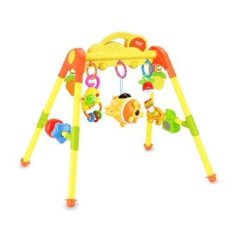 Source le fort baby fitness frame baby 0-1-year-old fitness ischildren's 3-6-12 a month newborn children music toys
