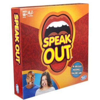 Harga Speak Out Mouthpiece Board Game Party Challenge Game 2016 USFriends Game