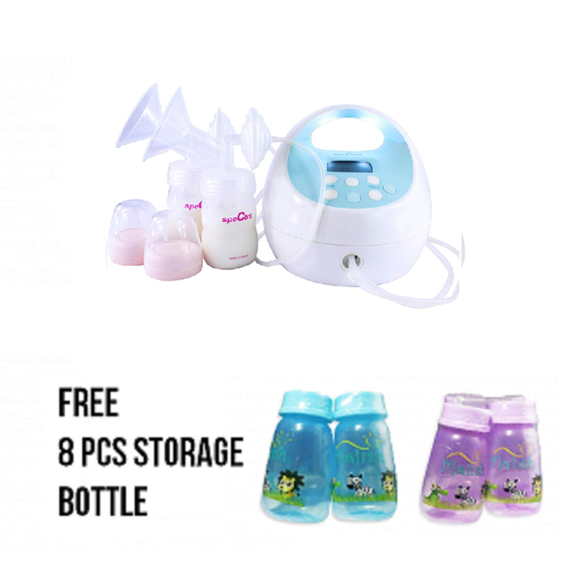 Pump Mama Online New Arrival Obebe Electronic Breast 3 Levels Rechargeable Battery Spectra S1 Double Electric Free 8 Pcs Storage Bottle