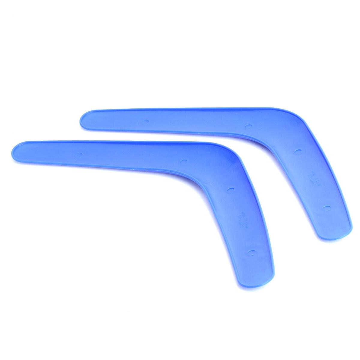Hình ảnh Sports V-Style Outdoor Flying Boomerang - Blue (2 PCS) - intl