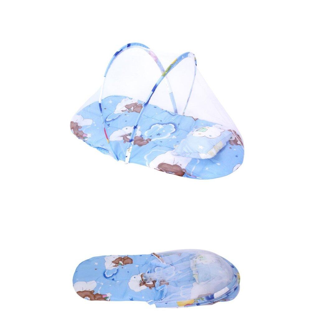 SS blue Mosquito net , crip netting ,for babies or new born for safety