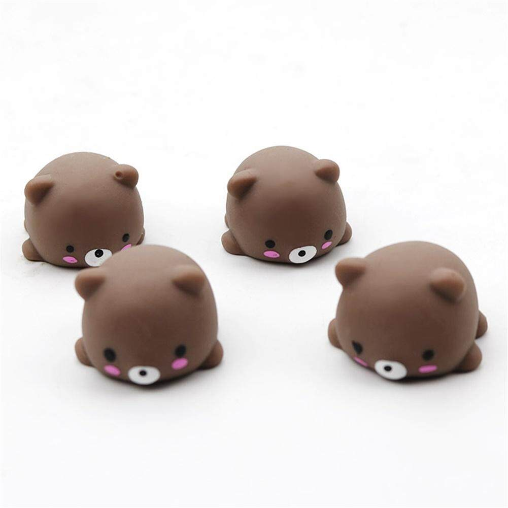 Star Mall Kids Mini Cute Animal Squishy Squeeze Toy Stress Reliever Toy Birthday Gift Ornament bear - intl