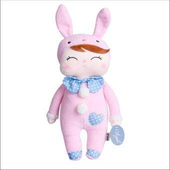 Stuffed Metoo Angela Plush Sleeping Girl Bunny Rabbit Baby Doll Toy Xmas Gift