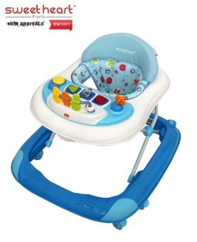 Sweet Heart Paris Baby Walker BW1001 Blue