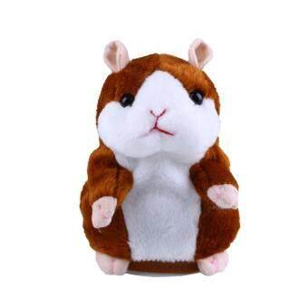 Talking Hamster Speak Talk Sound Record Repeat Stuffed Plush Animal Child Toy