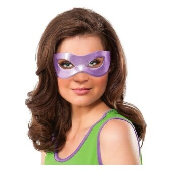 Teenage Mutan Ninja Turtles Donatello Kostum Mata Masker Dewasa Satu Ukuran-Internasional