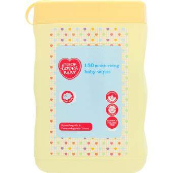 Harga TESCO BABY WIPES 150S MOISTURIZING JAR