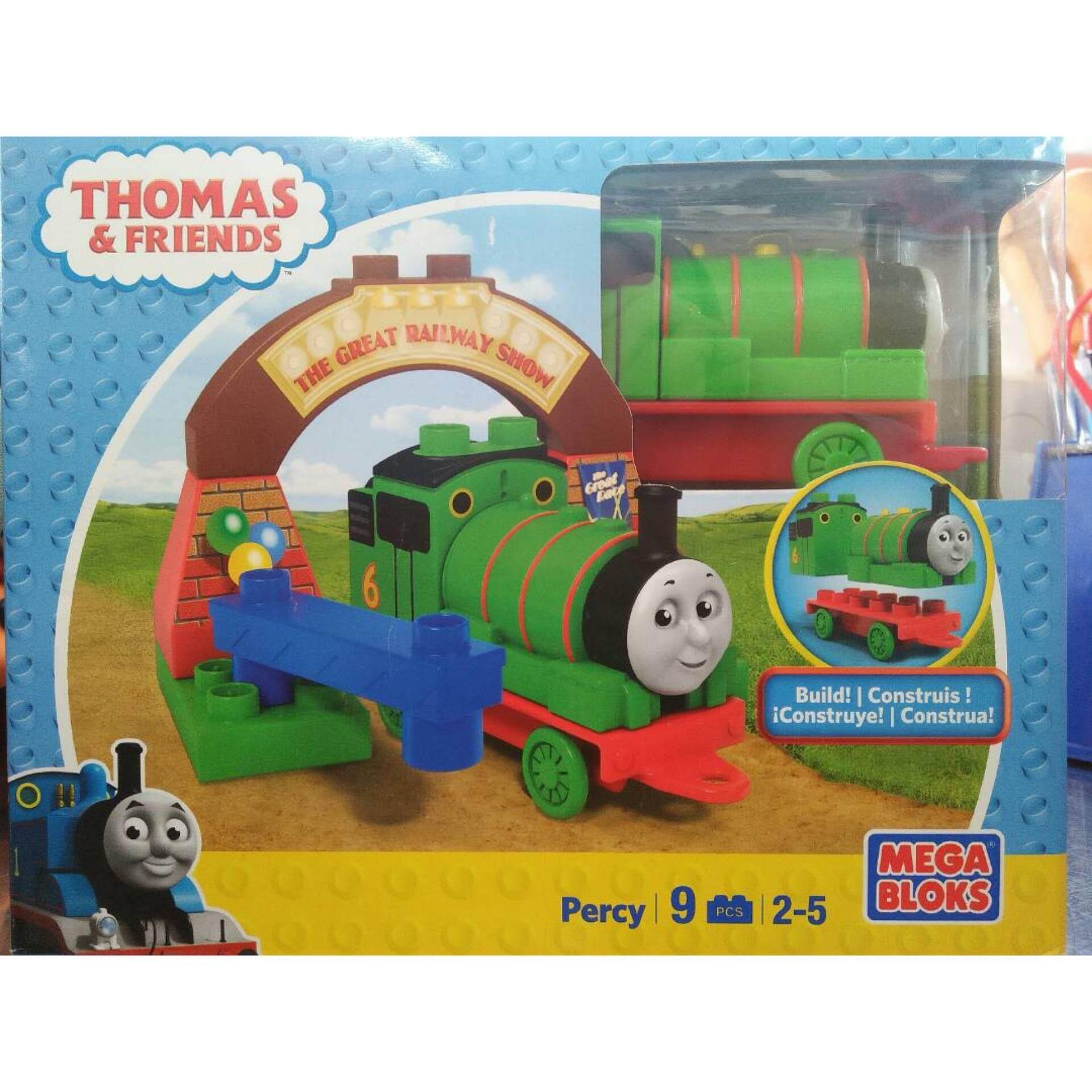 Thomas Friends Percy 9pcs Mega Blocks