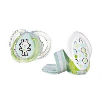 Harga Tommee Tippee Any Time Pacifier and Holder Bunny