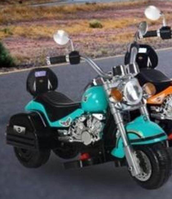 Top Kids Harley Bike Green