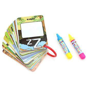Toys Games Drawing Painting Supplies English Learning Card MagicWater Book Board For Kid WithPen