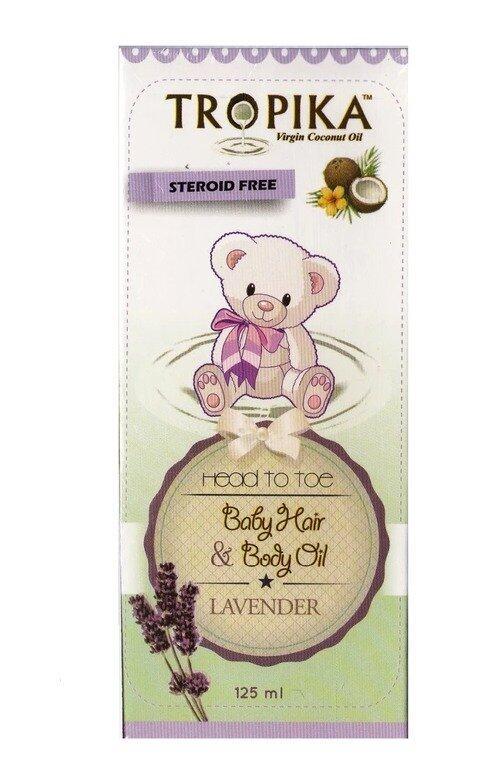Tropika Baby Hair & Body Oil Aroma Lavender 30ml