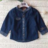 Unisex Premium Quality Baby Kids Long Sleeve Denim Shirt Tops