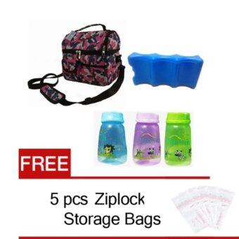 Harga V-Cool Cooler Bag Complete Set (Double Compartments) with FREE GIFT