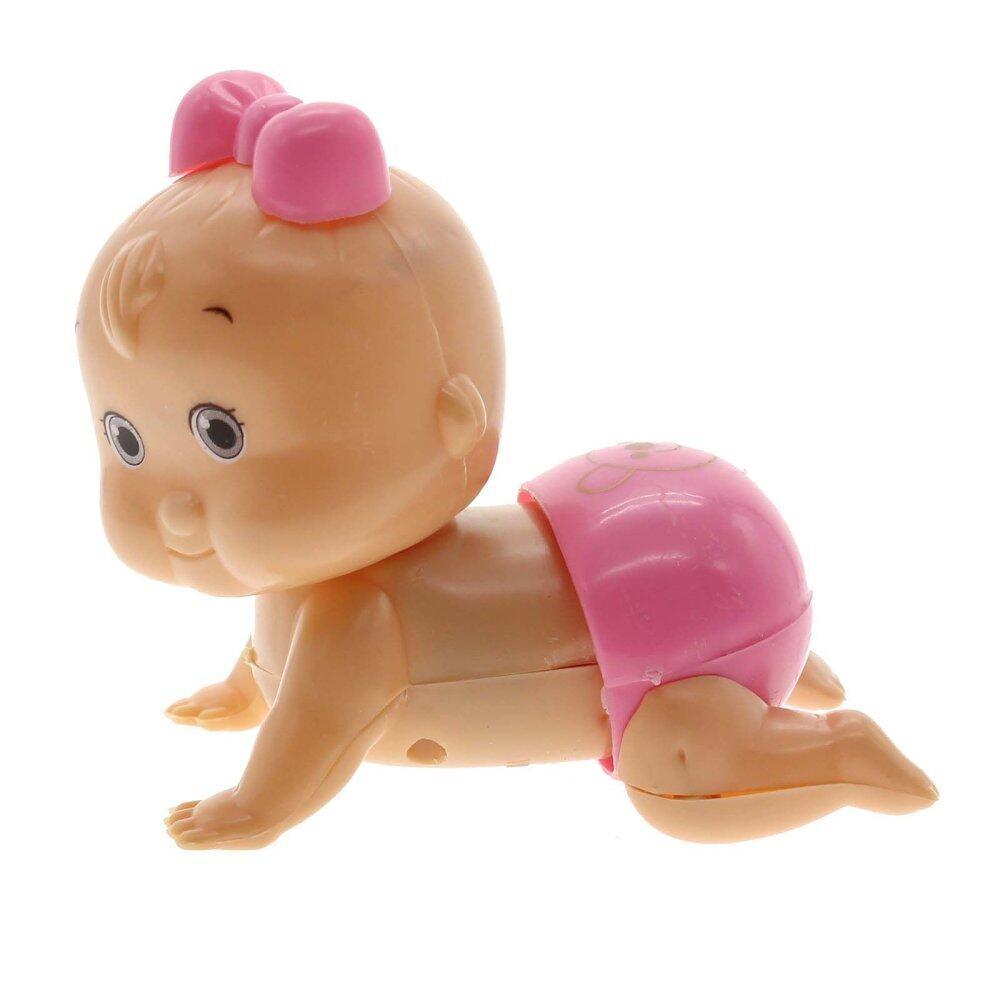Detail Gambar Vanker Lucu Bayi Perempuan Anak Anak-anak Windup Merangkak  Merangkak Mainan Boneka Natal Hadiah Merah Muda-Internasional Terbaru 67d8e15818