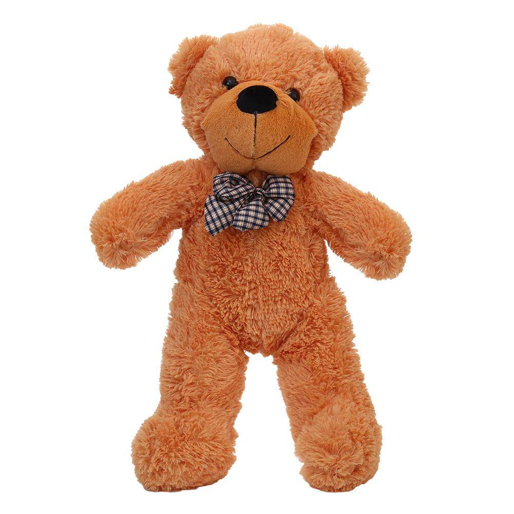 VEECOME Cuddly Stuffed Plush Teddy Bear Toy Animal Doll Light Brown 60CM - intl