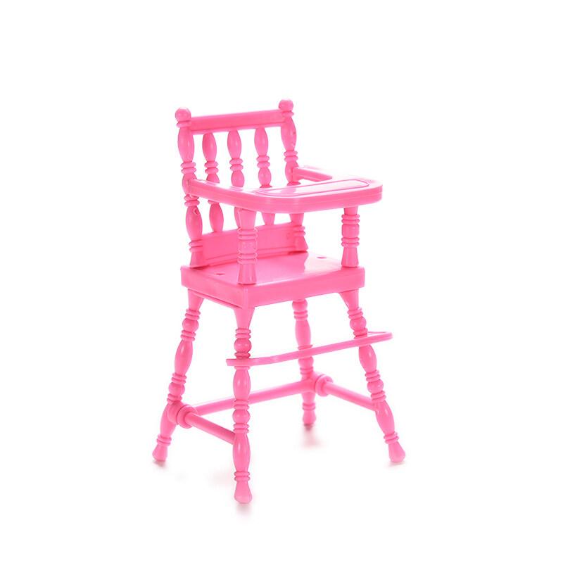 Velishy Modis Bayi Tinggi Kursi Rumah Boneka Furniture Toys untuk Barbie Perempuan Gifts 3 Pcs-Intl-intl
