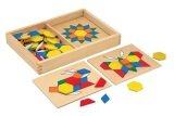 [All4kids] Viga Pattern Boards & Blocks