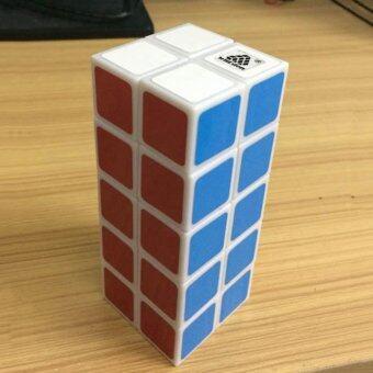 Veecome Witeden 2X2X5 Berkelok-kelok Rubik Teka-teki Otak Mainan Penggoda Hitam untuk Anak