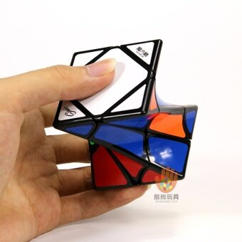 Harga XMD twisted oblique to collection cube unusual shape cube