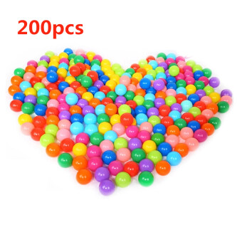 Harga YBC 200pcs Ocean Ball Superior Toy Baby Kid Swim Fun Colorful Soft Plastic Ball