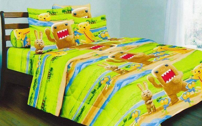 Set Single Bedsheet & Comforter - DOMO