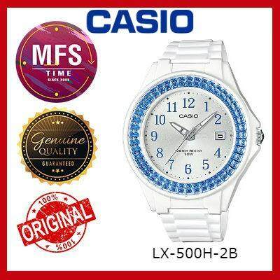 (2 YEARS WARRANTY) CASIO ORIGINAL LX-500H-2B SERIES YOUTH ANALOG-LADIES WATCH