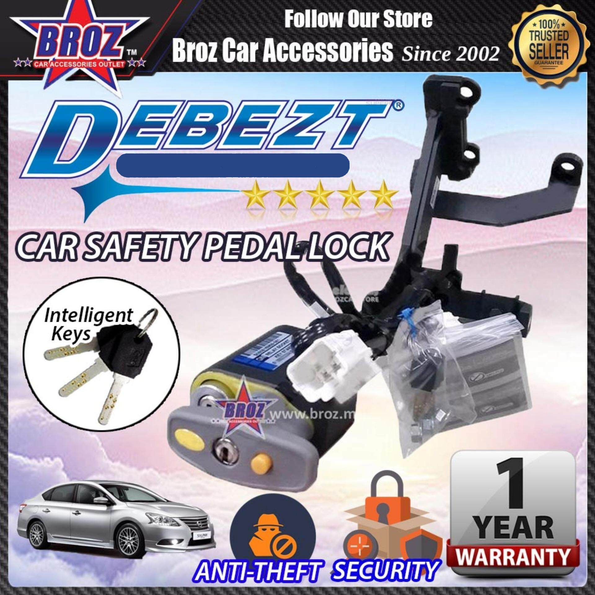 Sylphy 2014-2017 Debezt Auto Push Start Anti Theft Double Pedal Lock