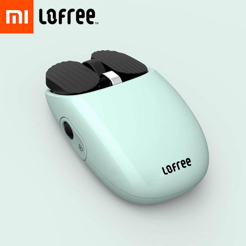 ยี่ห้อนี้ดีไหม  Original Xiaomi Mijia LOFREE เมาส์ไร้สายบลูทูธ 2.4G/โหมดบลูทูธคู่การเชื่อมต่อที่ไม่ซ้ำกันฟังก์ชั่นท่าทาง