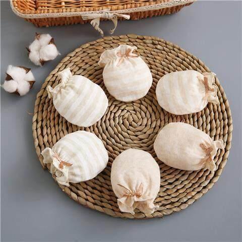 ul li Bao Tay Sơ Sinh Chống Trầy Xước Mặt Mùa Hè Xuân Thu Mỏng Phần Cotton Cho Bé găng Tay Cho Bé 0-3-6 Tháng Tuổi Nhỏ Bảo Vệ Tay /li /ul